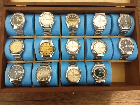 Coleção De Relógios Antigos ( 14 Unidades )