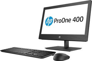 Computadora Hp 400 Intel I7 8gb 1tb G4 Todo En Un 23.8 8700t
