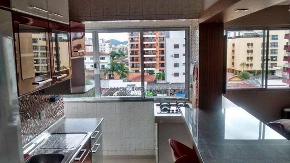 Apartamento Com 2 Dormitórios À Venda, 110 M² Por R$ 400.000,00 - Balneário Cidade Atlântica - Guarujá/sp - Ap4263