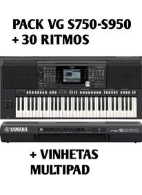 Pack Vg S750-950 2018 + Vinhetas