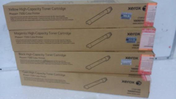Cartucho De Toner Original Xerox Phaser 7500 Quatro Cores