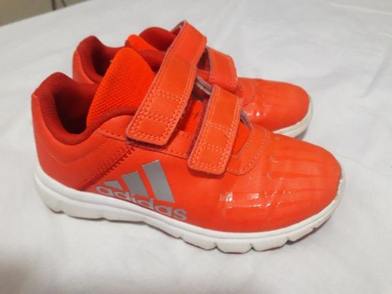 Tênis adidas Original Couro Laranja