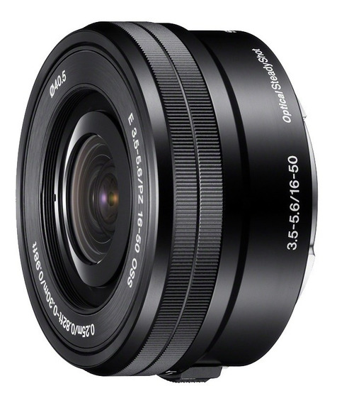 Lente Sony 16-50mm Oss P/ Sony Nex E-mount - Muito Nova