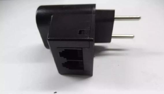 5clamper Energia+telefone Protetor Raios/surtos C/cabo Rj11