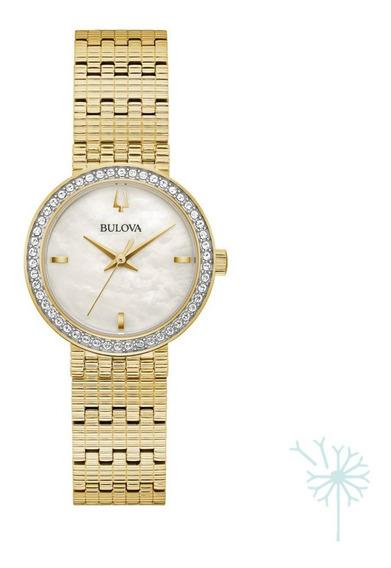 98l278 Reloj Bulova Colección Phantom Para Dama Dorado