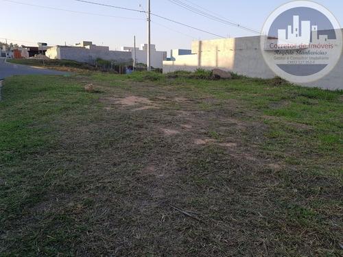 Excelente Terreno Plano, De Esquina, No Bairro Santa Rosa Em Vinhedo Com 287m2, Ótima Localização! - Te00022 - 68187043