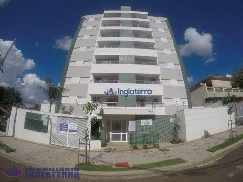 Apartamento À Venda, 74 M² Por R$ 490.000,00 - Nossa Senhora De Lourdes - Londrina/pr - Ap0335