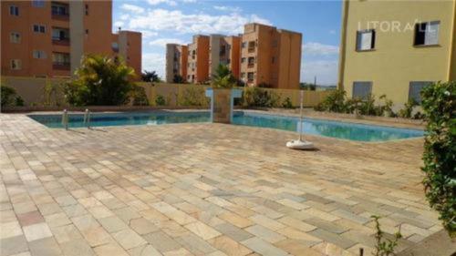 Lindo Apartamento Com Piscina No Cibratel -itanhaém 2389 Npc