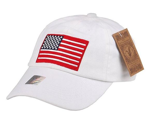 Rufntop Black Eagles Cap Bandera Americana 100% Algodón Gorr