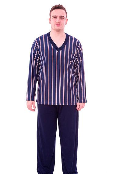Pijama Masculino Inverno Roupa De Dormir Le Moncy 3127