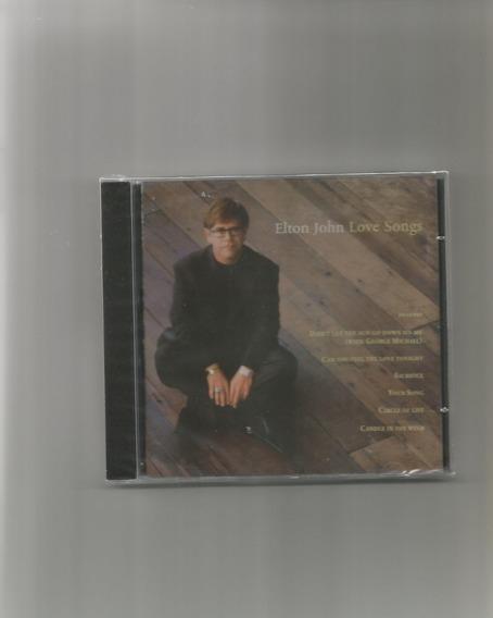 Cd Elton John - Love Songs (novo-lacrado)