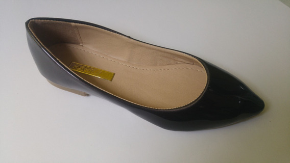 Zapato Dama - Valerinas Flats Gris Oxford