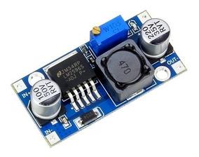 Regulador De Tensão Lm2596 Dc-dc Ajustável Arduino