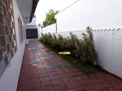 Casa Com 3 Dormitórios Para Alugar, 250 M² Por R$ 3.000/mês - Osvaldo Cruz - São Caetano Do Sul/sp - Ca0281
