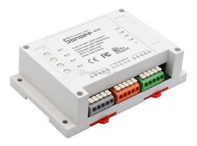 Sonoff 4ch Canais Interruptor Wifi - Automação Residencial