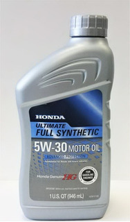 Aceite De Motor 5w30 Full Synthetic Honda