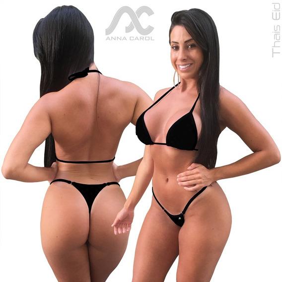 Conjunto Sexy Panicats Fio Dental Biquínis Anna Carol