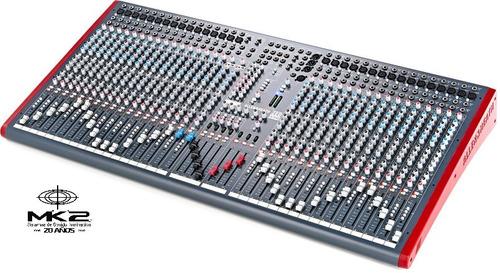 Allen & Heath Zed-436 Consola Sonido Mixer 32 Canales Usb 6p