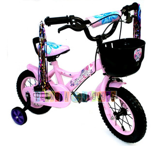 Bicicleta R12 Kids Full Con Camara Y Cubierta Rodado 12