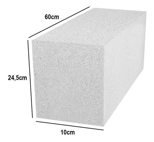Bloques De Hormigón Celular Ladrillo 10 X 24,5 X 60