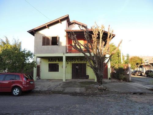 Imagem 1 de 19 de Casa Residencial À Venda, Santos Dumont, São Leopoldo. - Ca2012
