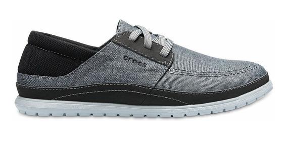 Crocs Originales Santa Cruz Playa Lace C204837 Hombre Asfl70
