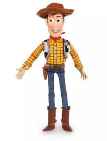 Boneco Xerife Woody Toy Story Na Caixa Disney 19 Frases