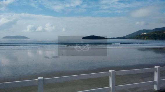 Hotel Pé Na Areia, Praia Da Maranduba Em Ubatuba Com 24 Suítes - V127