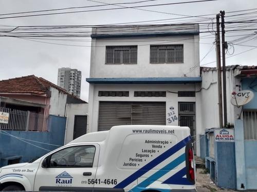 Imagem 1 de 15 de Locação - Imóvel Comercial - Chácara Santo Antônio - São Paulo/sp - Rr4674