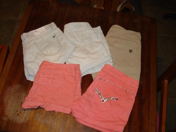Shores De Jean En Varios Colores Para Niñas Y Adolescentes!!
