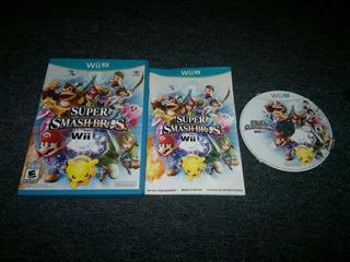 Super Smash Bros Completo Para Nintendo Wii U,excelente.