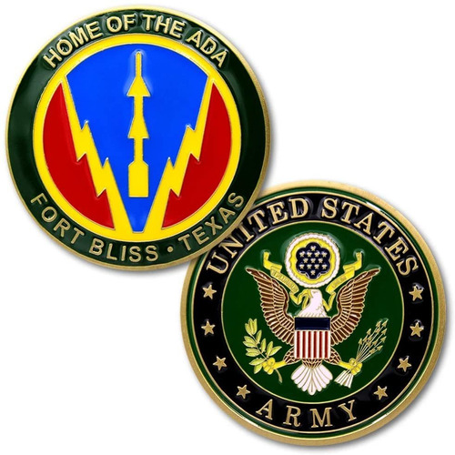 U, S, Ejrcito De Fort Bliss Tejas Inicio De La Moneda Desaf