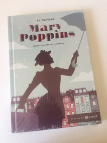 Livro P. L. Travers: Mary Poppins Ed Ilustrada + Dvd