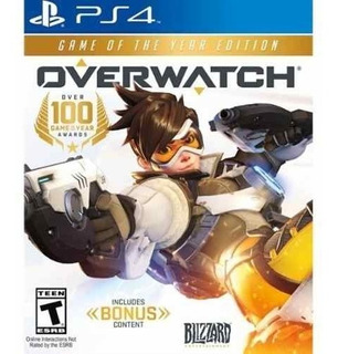Juego Ps4 Overwatch Game Of The Year Edition