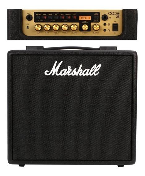 Combo Amplificado Code25 Marshall 110v Nfe
