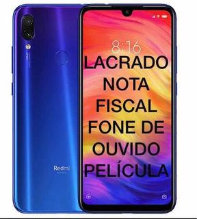 Xiaomi Redmi Note 7 Global 64/4gb Global + Capa +nota Fiscal