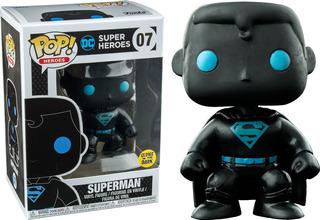 Funko Pop! Dc: Superman Brilla En La Oscuridad #07