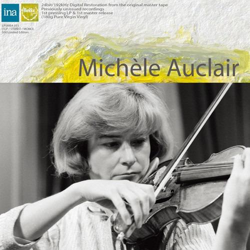 Michele Auclair Works By Bartok & Saint-saens Lp Us Imp
