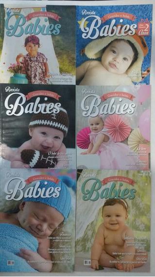 6 Revistas Babies Bebês Gravidez 2015 16 Frete Grátis