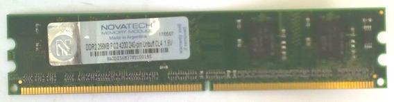 Memoria 256mb Ddr2 533mhz (novatech)