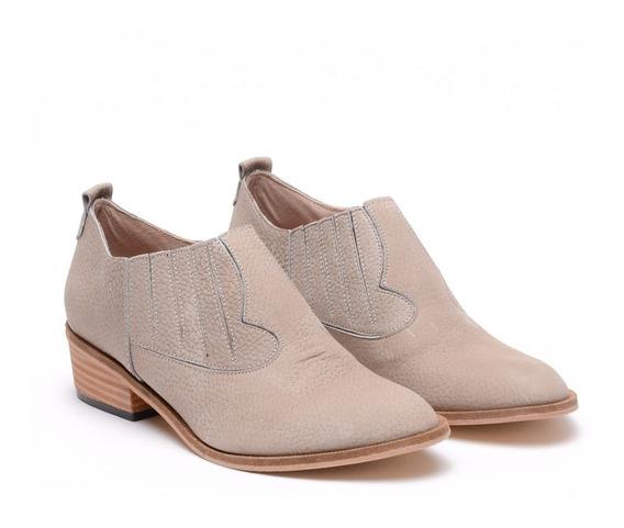 Botitas Hermosas Cuero Mujer Botas Zapatos Texanas Moda Heben