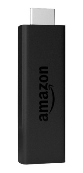 Streaming media player Amazon Fire TV Stick Basic Edition padrão 8GB preto com memória RAM de 1GB