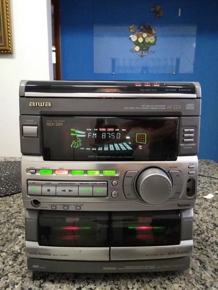 Aiwa Cx-ns94hr Japones ( Só Aparelho)