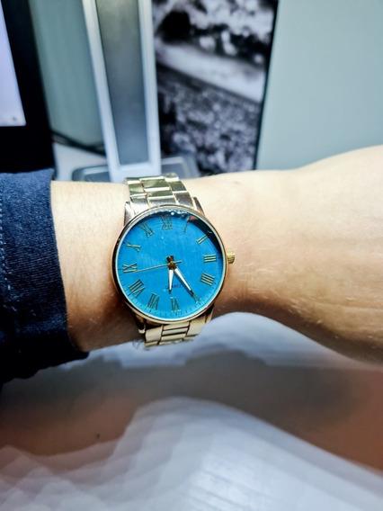 Lindo Relógio Feminino Executiva Bluegold