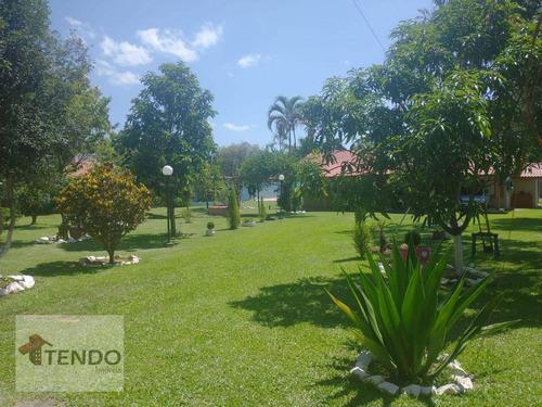 Imagem 1 de 30 de Imob02 - Chácara 1500 M² - Venda - 2 Dormitórios - Jardim Planalto - Monte Mor/sp - Ch0109