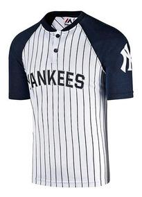 Playera Beisbol Yankees New York Majestic Mffs796pn 77345 T3