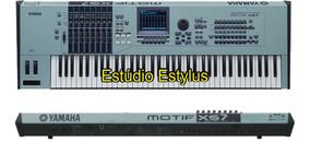 Samples De Piano Motif Xs7 Nki Envio Imediato