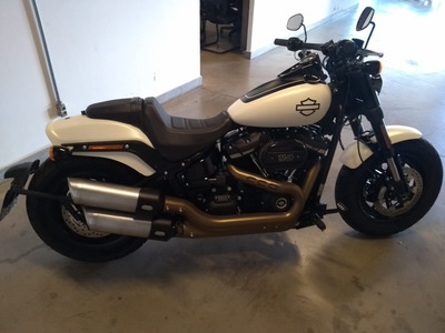 Harley-davidson Fat Bob 114 Branca 2018/2018