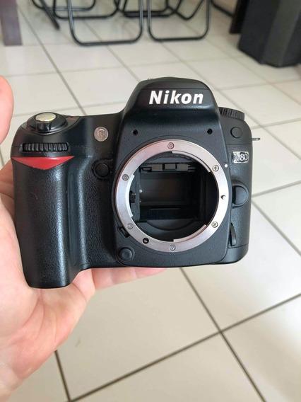 Câmera Nikon D80 - Corpo - Com Defeito