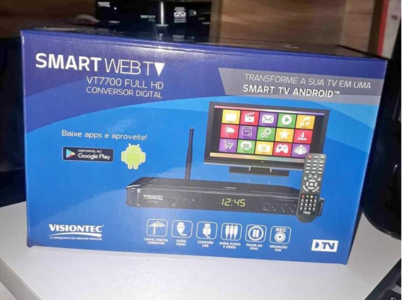 Receptor Tv Digital E Tv Box Visiontec Vt7700
